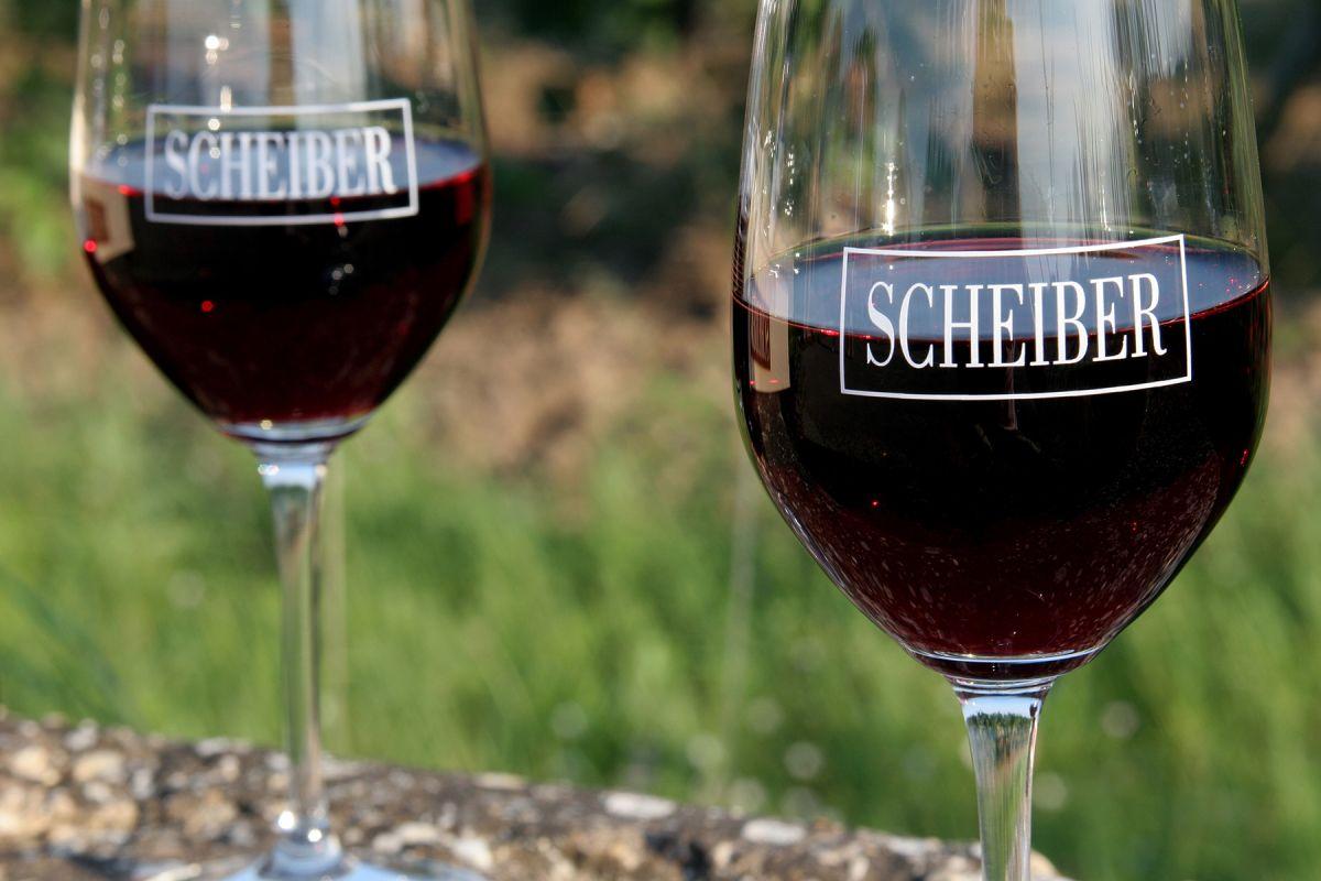 SCHEIBER Weinglas
